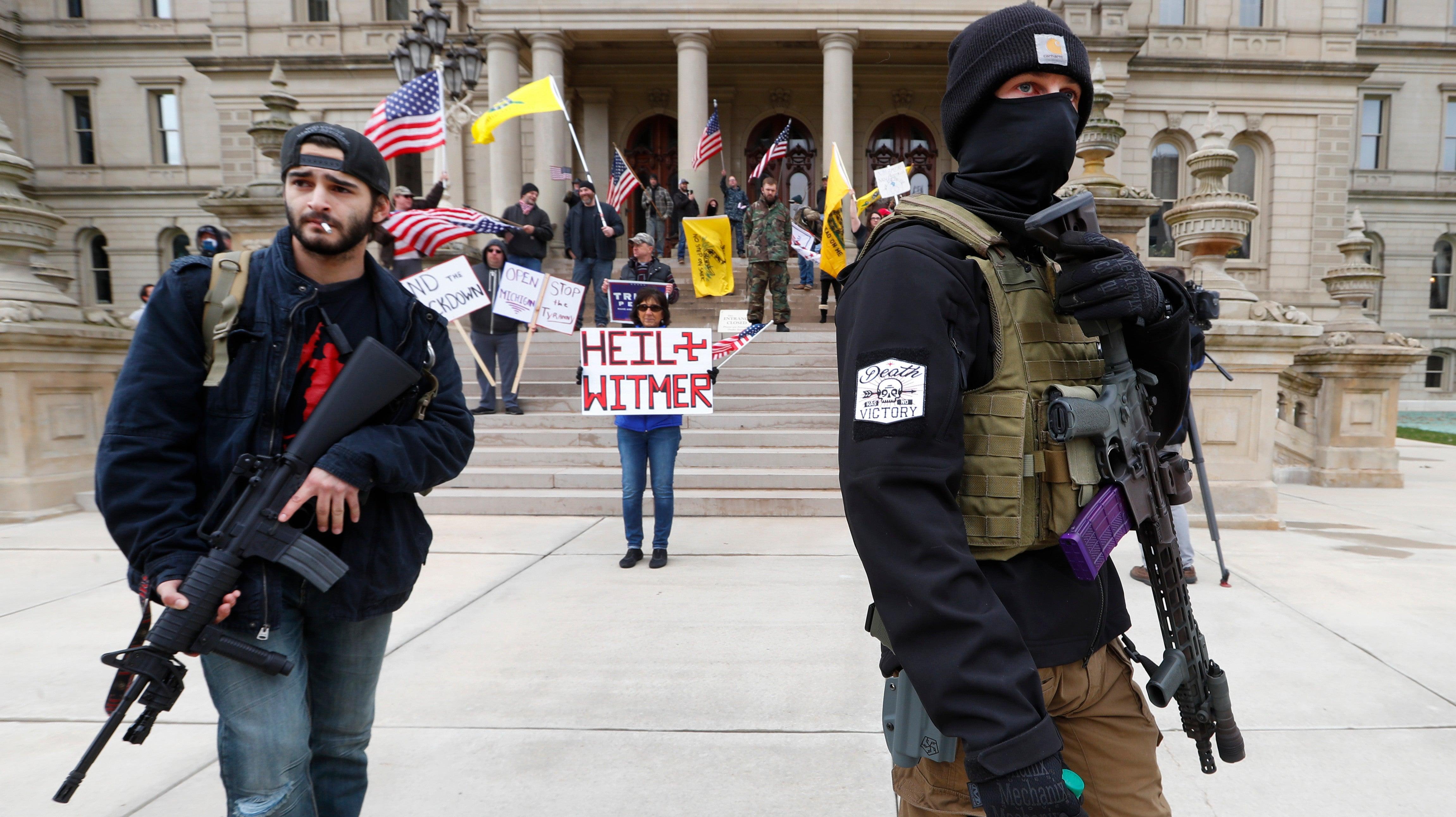 US Pro-Gun Activists Are Behind Some Of Facebook's Biggest Anti-Quarantine Groups