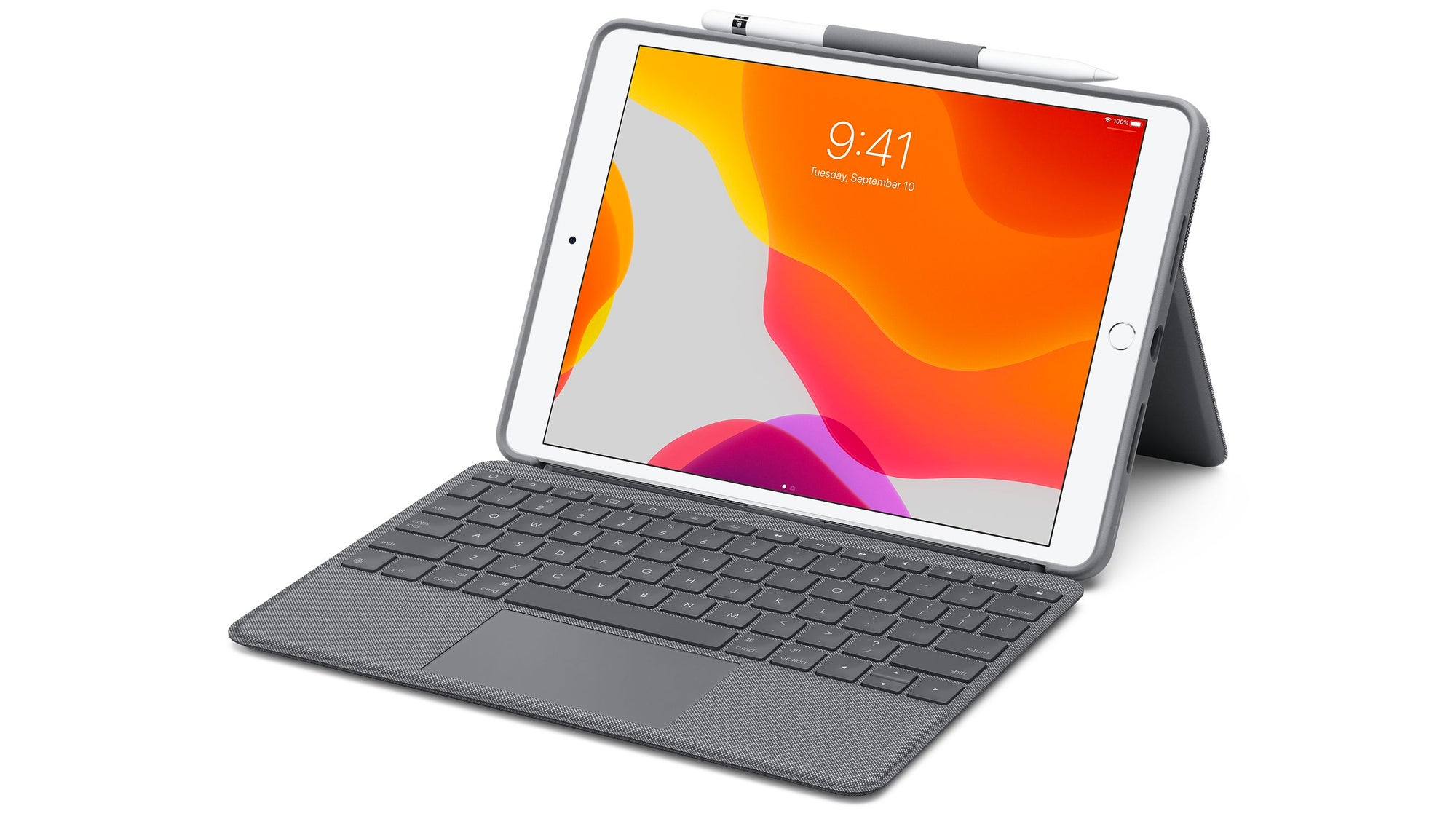 Logitech's New Keyboard Case Brings A Touchpad To Older iPads For Half The Cost Of Apple's