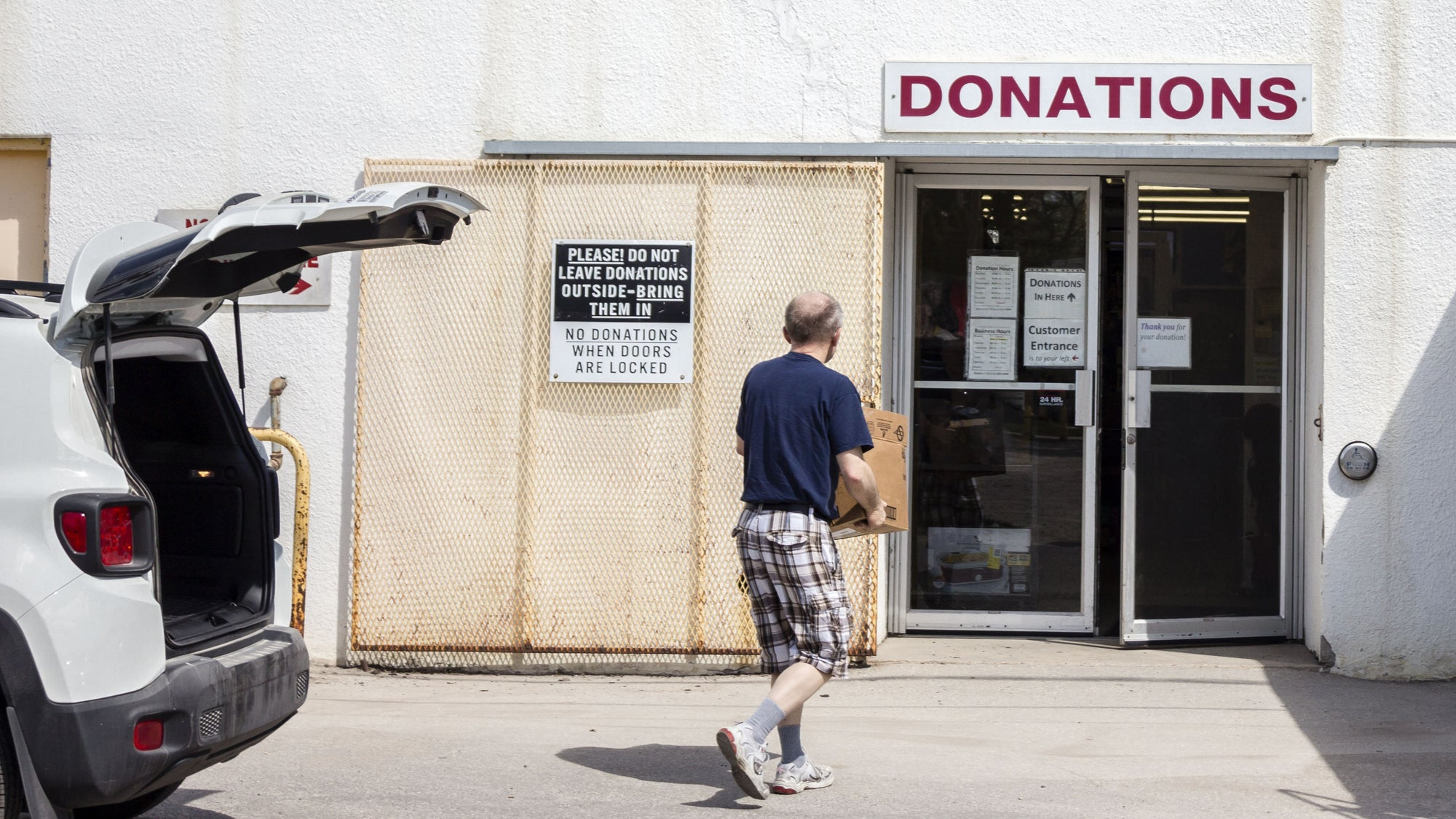 Pre-Sort Your Donations Before Charity Stores Reopen