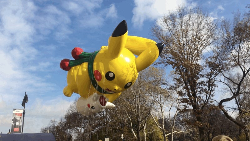 Three Video Game Balloons from the 2015 Macy's Thanksgiving Day Parade