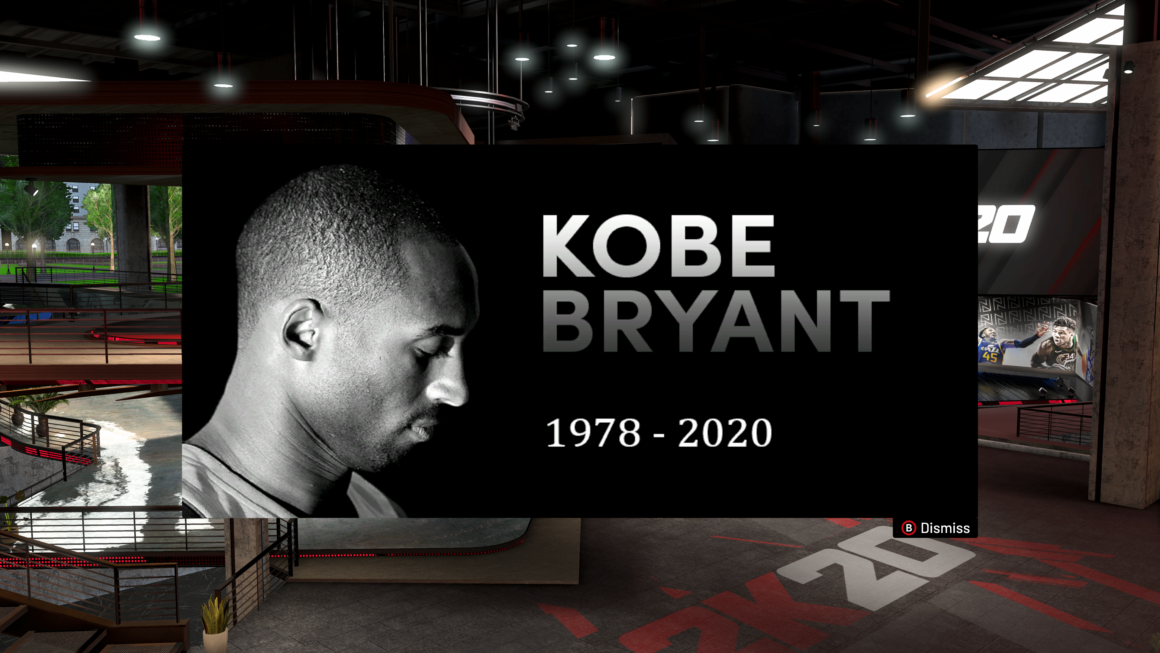NBA 2K Players Are Paying Their Respects To Kobe Bryant