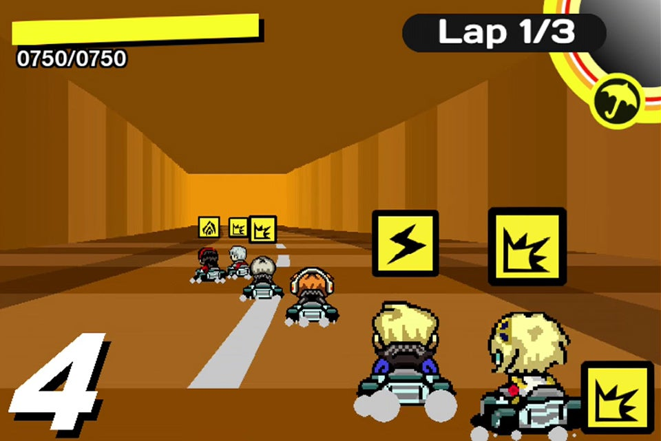 Fan Game Crosses Persona with Mario Kart
