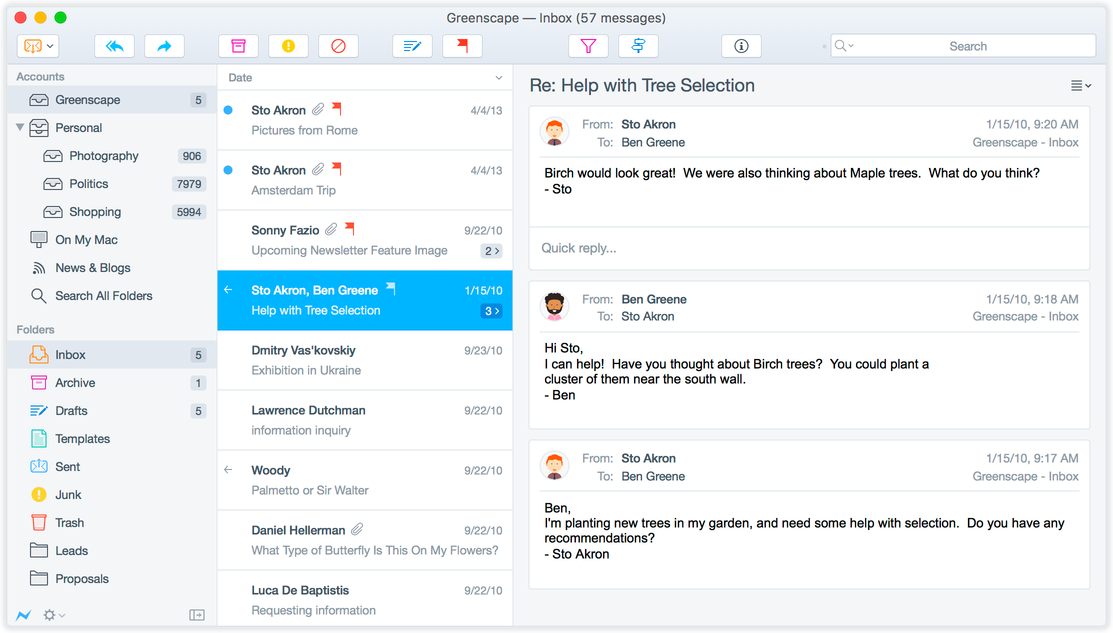 Postbox 5 Adds Dynamic Responses And Quick Forwarding To Other Services