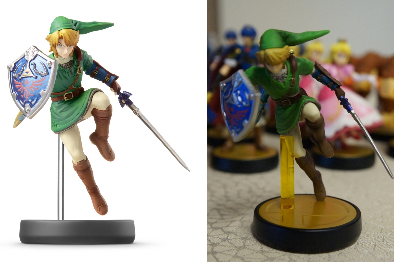 Nintendo's Amiibo Figures Look A Little Bit Different In Production
