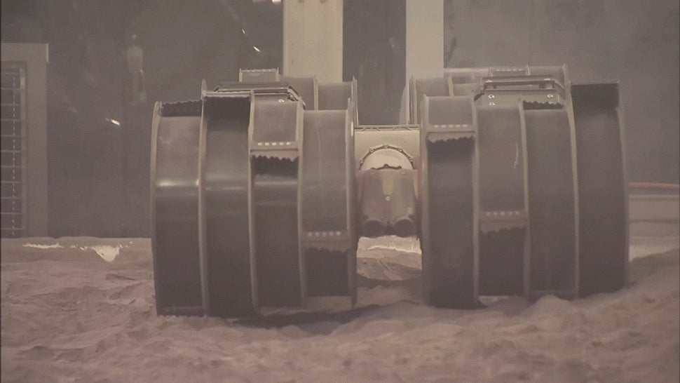 NASA's 'Blue Collar Robot' Is an Unstoppable Miner