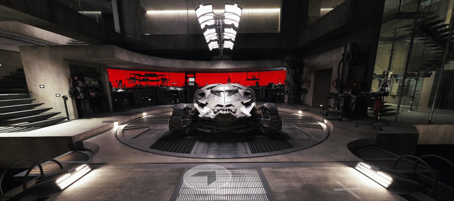 You Can Use Google Street View To Explore Batman's Lair