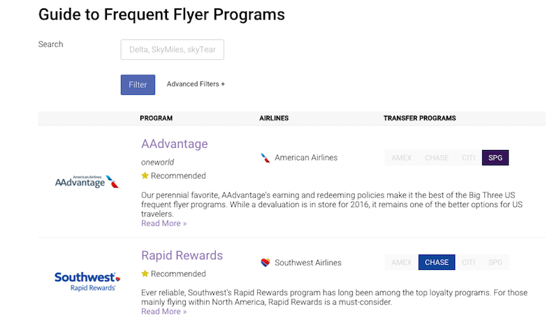 Pick the Best Frequent Flier Program With This Massive Guide