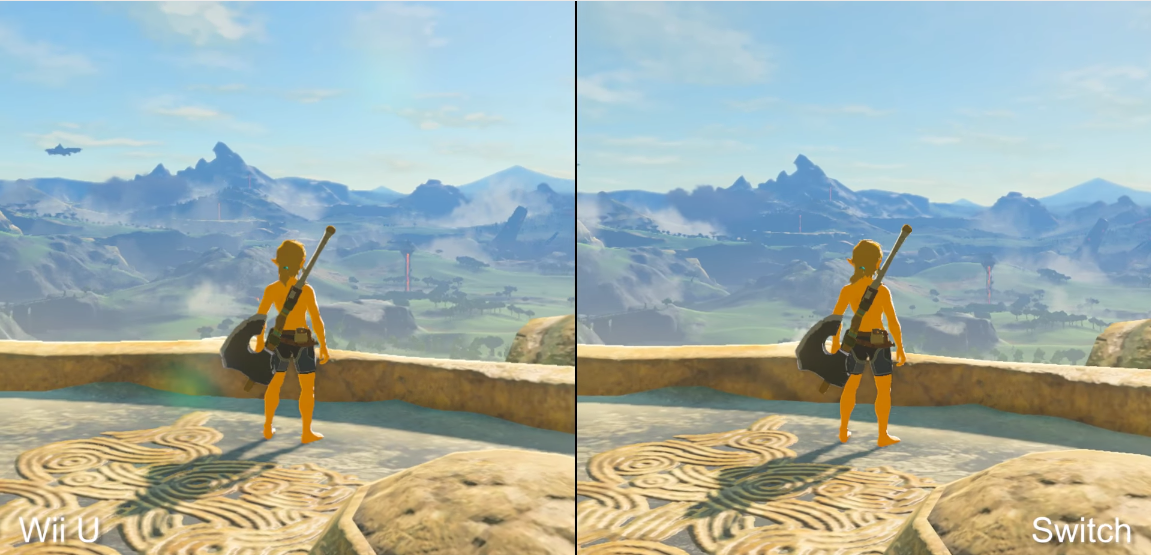 The Legend Of Zelda: Breath Of The Wild's Switch And Wii U Versions, Compared