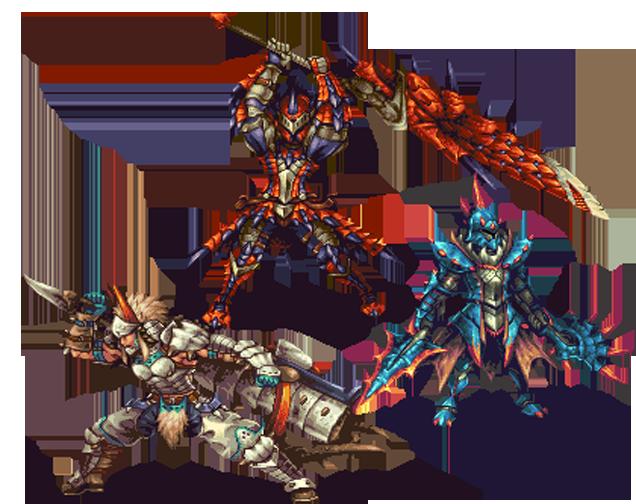 JRPG Characters Look So Good As 2D Sprites