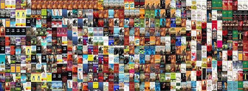 All the best selling books covers since 2000 reveal interesting trend