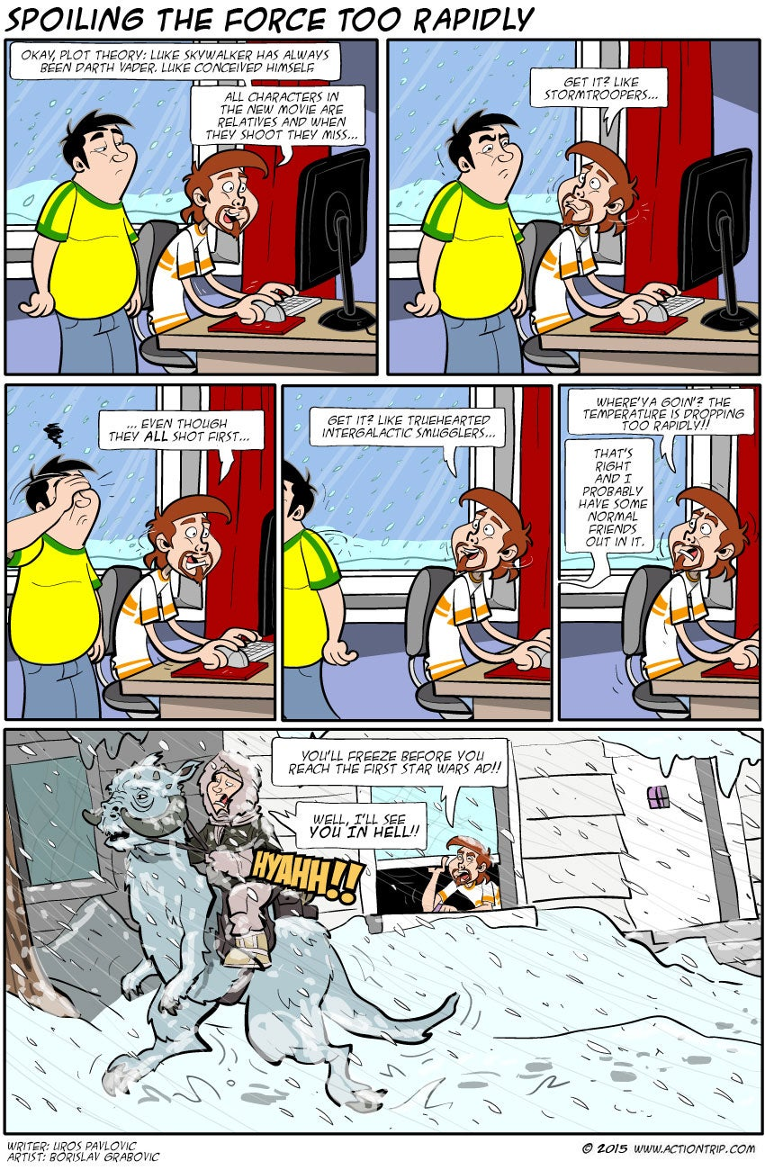 Sunday Comics: Unkillable Space Wizards