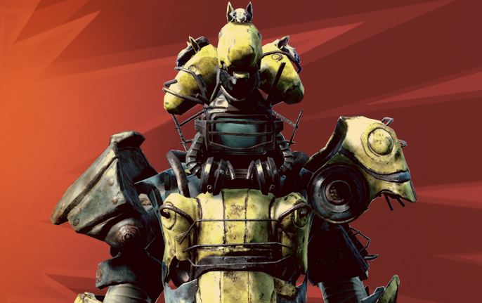 The First Round Of Creation Club Mods For Fallout 4 Has Power Horse
