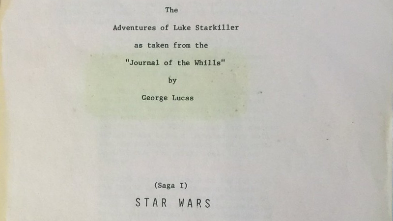 The Chewbacca Actor Is Tweeting Pages From a Very Early, Very Different Script of Star Wars