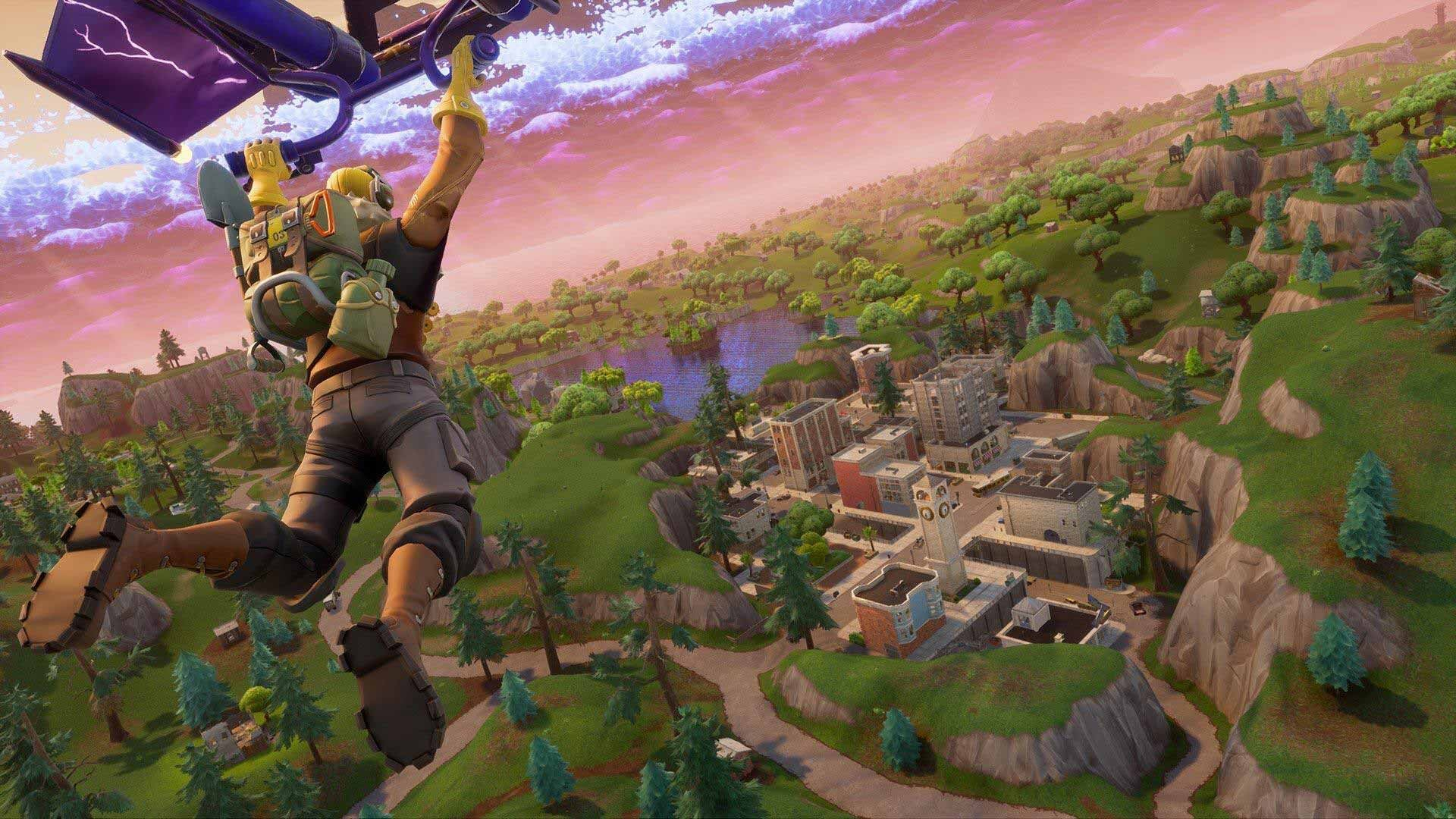 Fortnite Player Destroys Tilted Towers In A Single Shot