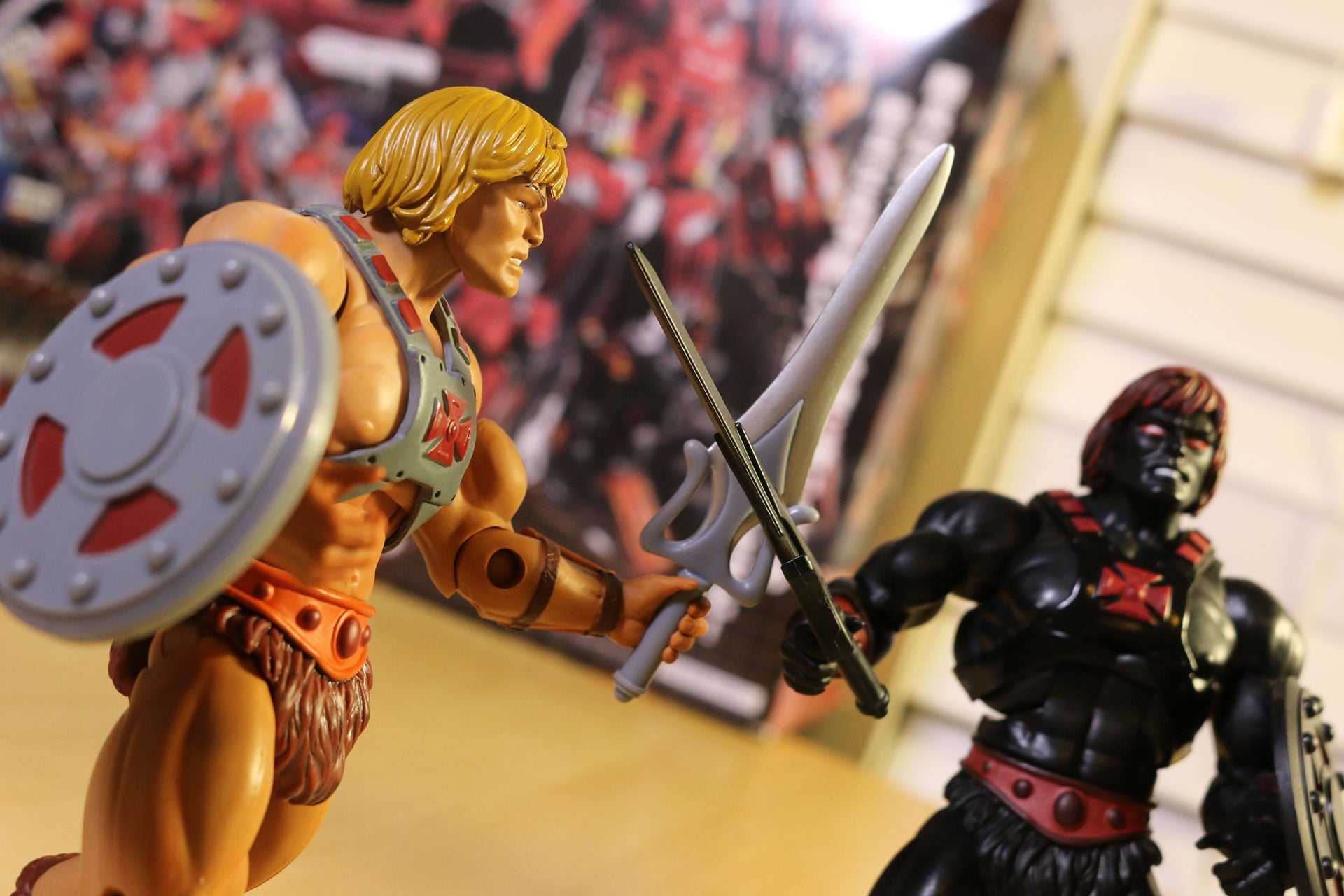 Toy Time Plays With He-Men, The Most Powerful Men In The Universe