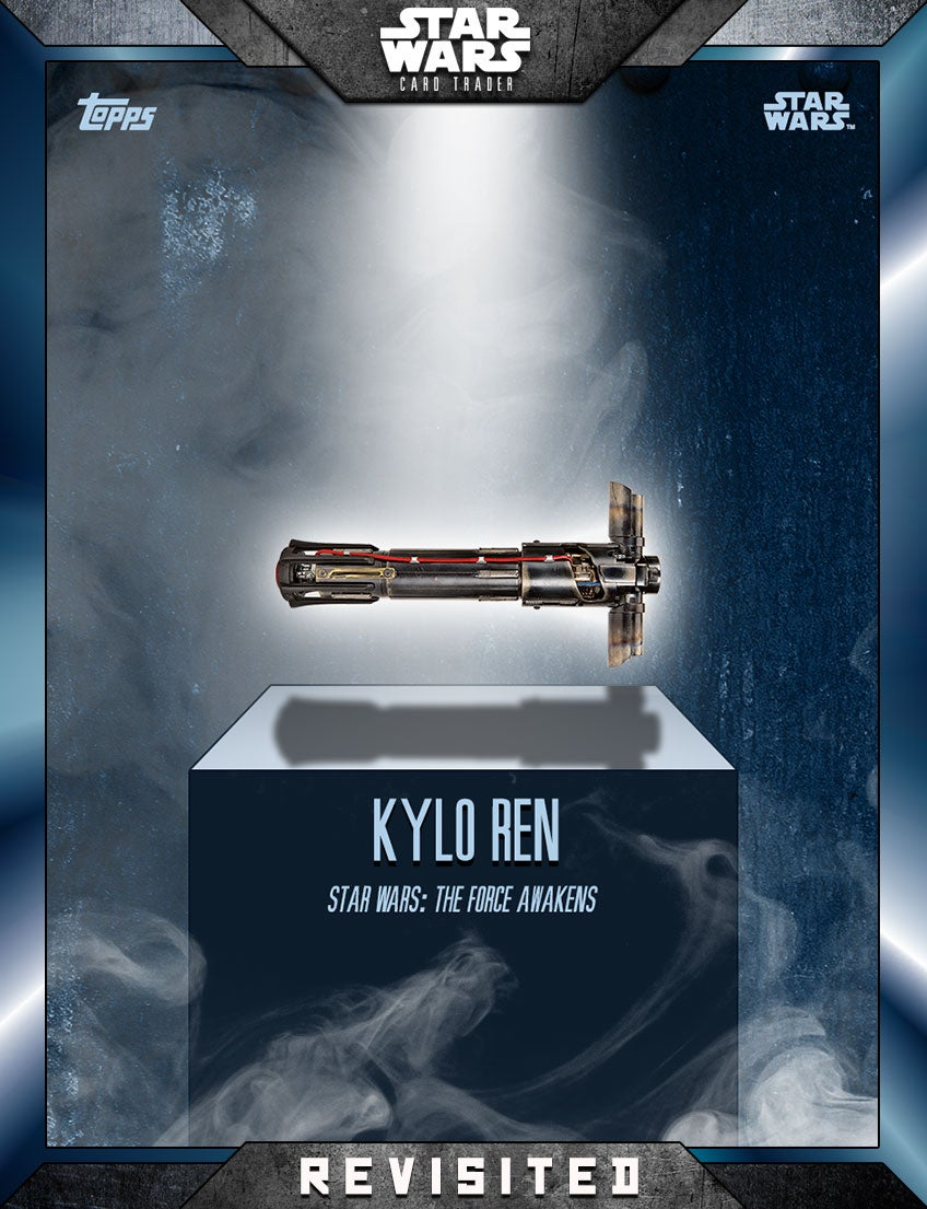 The Force Awakens Invades These Classic Star Wars Card Designs