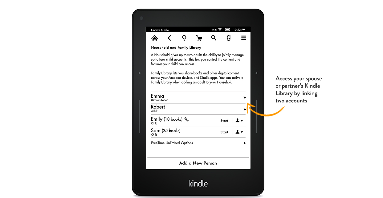 Kindle Just Got a Family Plan So You Can Finally Share Your Ebooks