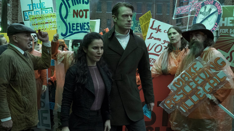 Netflix's Altered CarbonAsks: Can Humans Handle Becoming Gods?