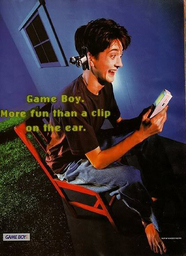 Old Game Boy Ads Weren't Exactly Family Friendly