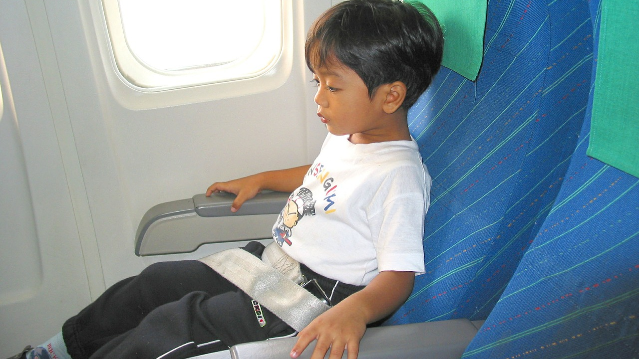 Seat Kids Near the Plane's Engine to Keep Them Calm While Flying