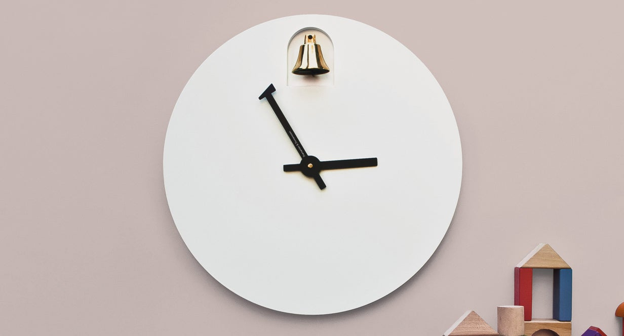 This Clock's Minute Hand Rings Its Own Hourly Chime