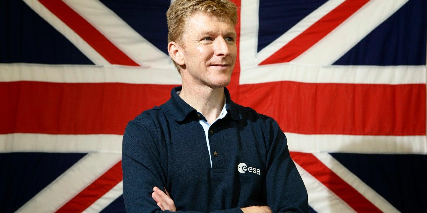 British Astronaut Tim Peake Is Going to Run a Marathon -- in Space