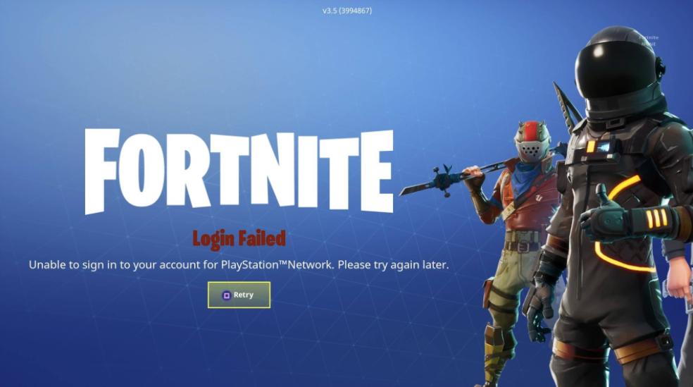 Fortnite Is Down [Update: It's Back!]