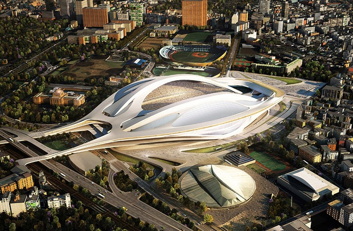 Japanese Architects Are Uniting to Stop Tokyo's Heinous Olympic Stadium