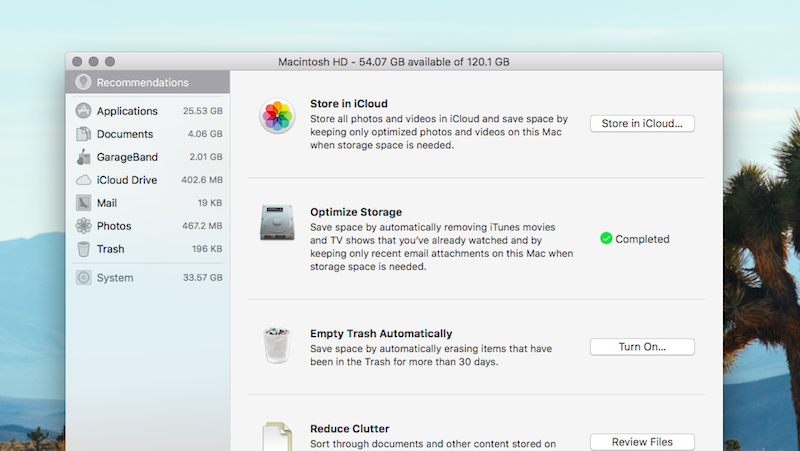 Clean Your Cluttered Hard Drive With MacOS Sierra's New Storage Manager