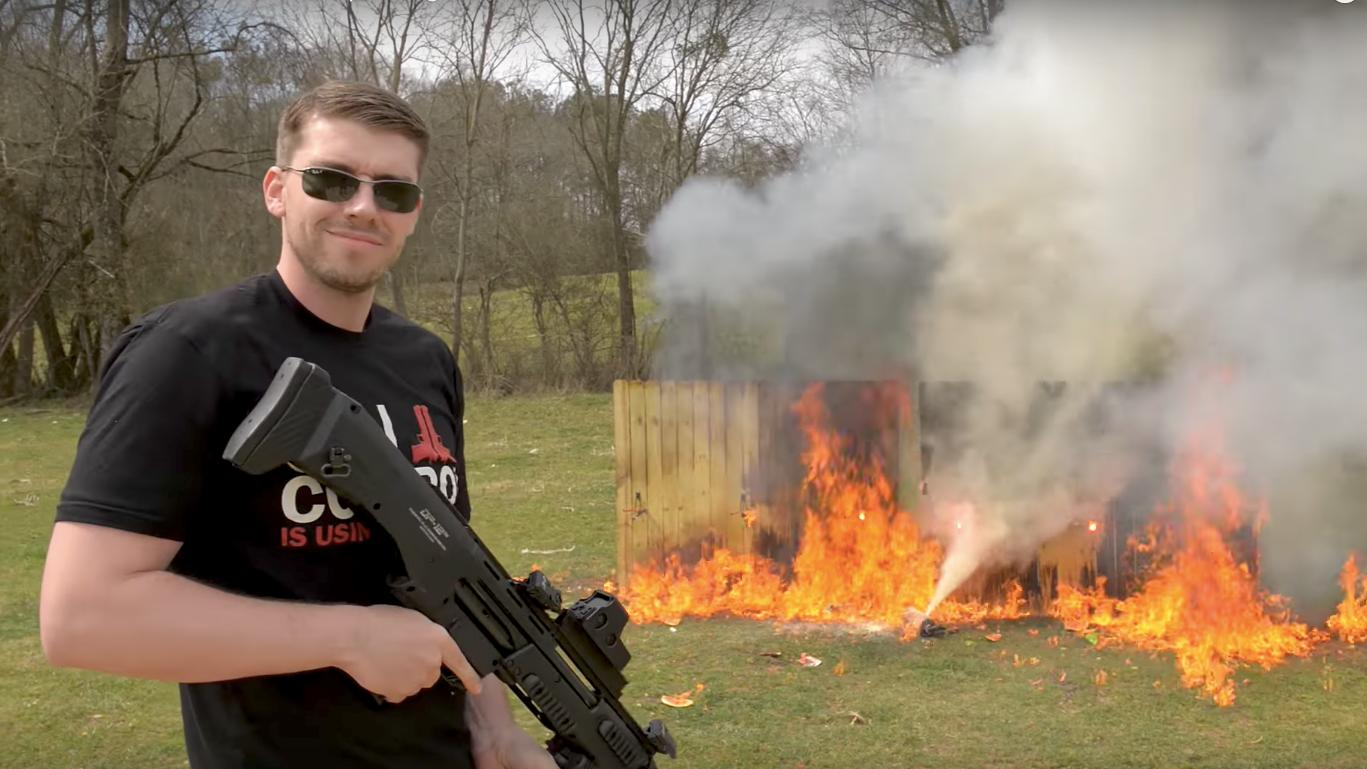 Unsurprisingly, Gun-Loving US YouTuber Is Having A Hard Time