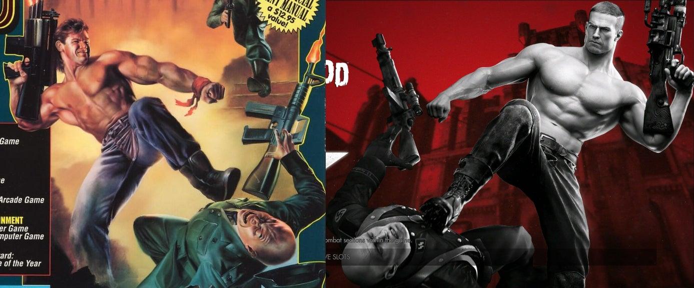 The New Wolfenstein's Main Menu Sure Looks Familiar