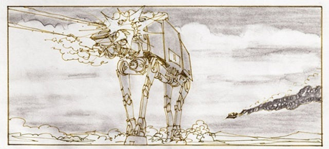 Original Star Wars Storyboards Show Iconic Scenes Before the Big Screen