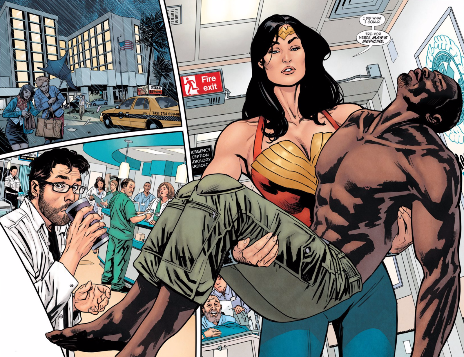 One Of Superman and Batman's Best Writers Flops Writing Wonder Woman