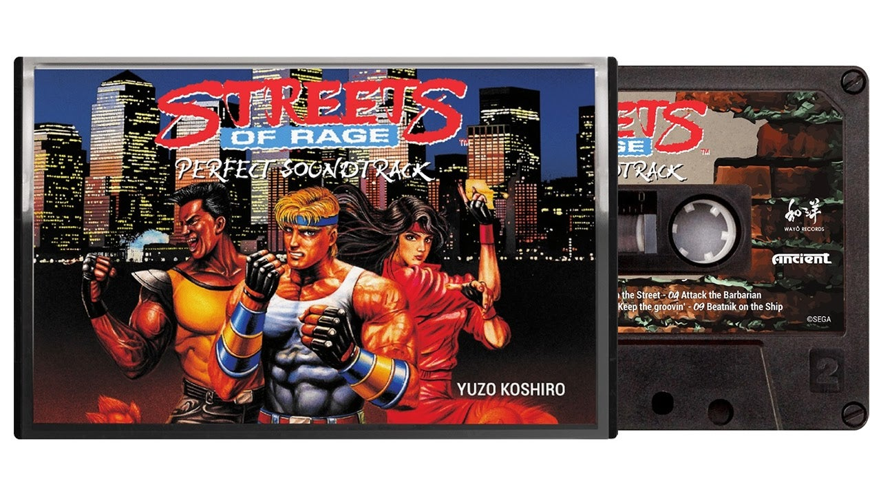 Classic Streets Of Rage Soundtracks Getting Reissued On Cassette