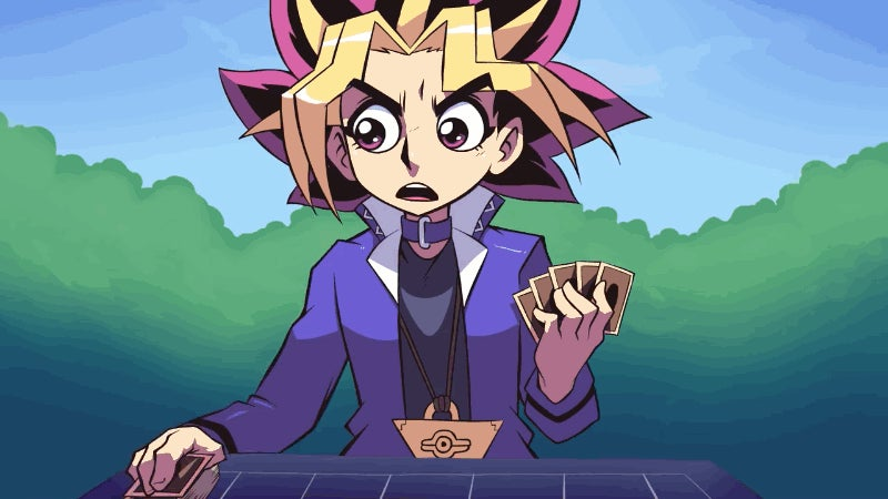 A Foul-Mouthed Yugi Doesn't Need The Heart Of The Cards To Win This Duel