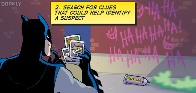 Batman's 7-Step Guide To Being A Great Detective