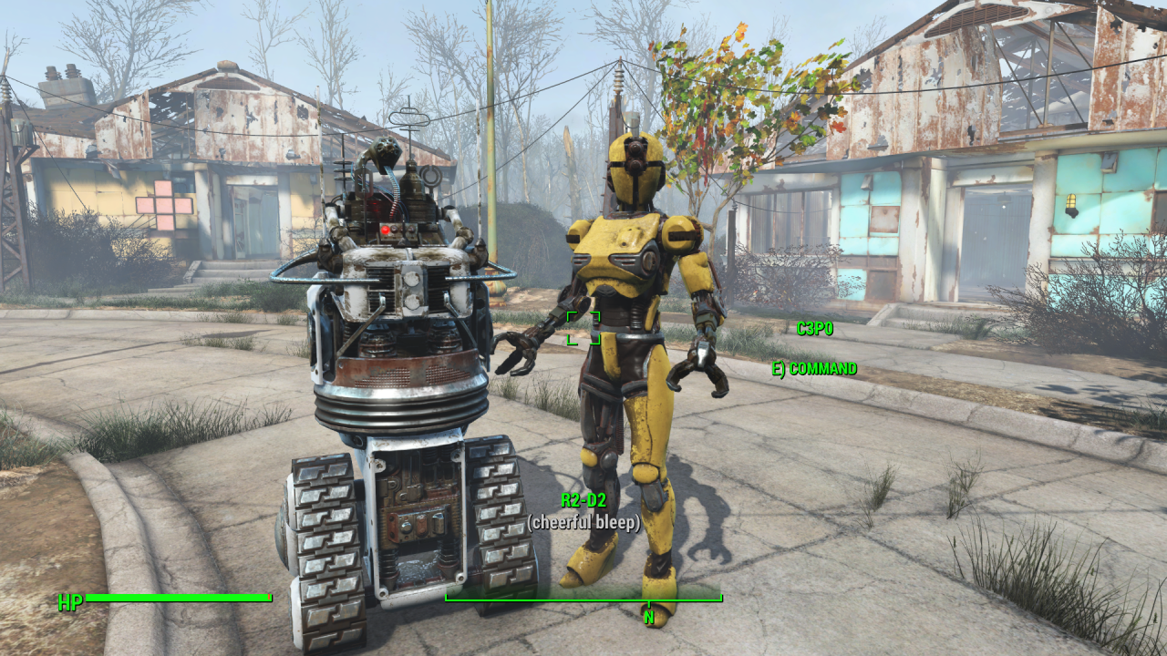 10 famous robots recreated in fallout 4 39 s dlc kotaku. Black Bedroom Furniture Sets. Home Design Ideas