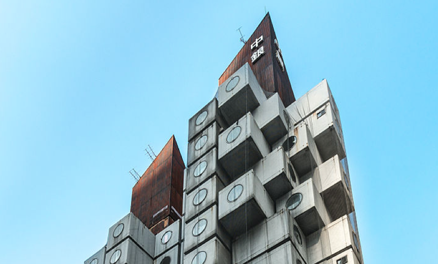 Life In An Iconic Tokyo Building