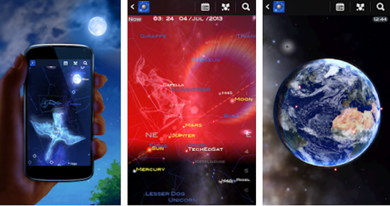 Star Chart Tells You What You're Looking At While Stargazing