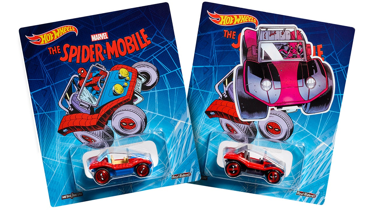 Spider-Man's Ridiculous Spider-Mobile Returns As Hot Wheels' Comic-Con Exclusive
