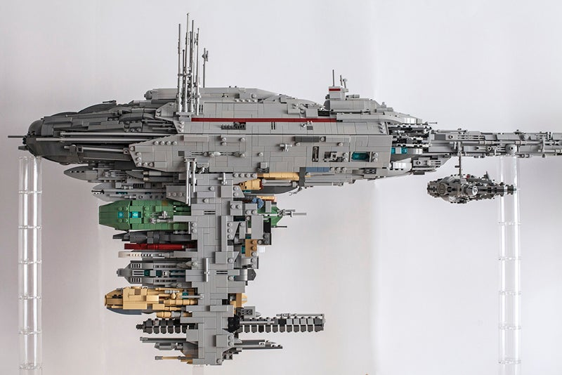 how to build mini lego star wars ships
