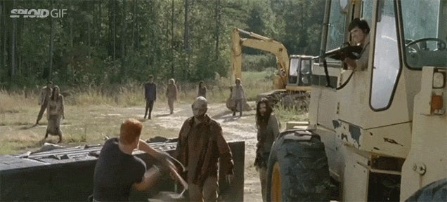 All the zombie kills from The Walking Dead season five in one gory video