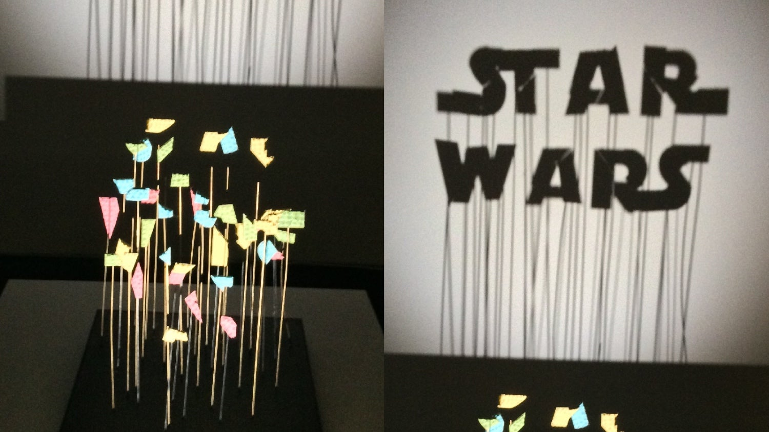 One Man's Trash Is Another Man's Fantastic Star Wars Art Exhibit