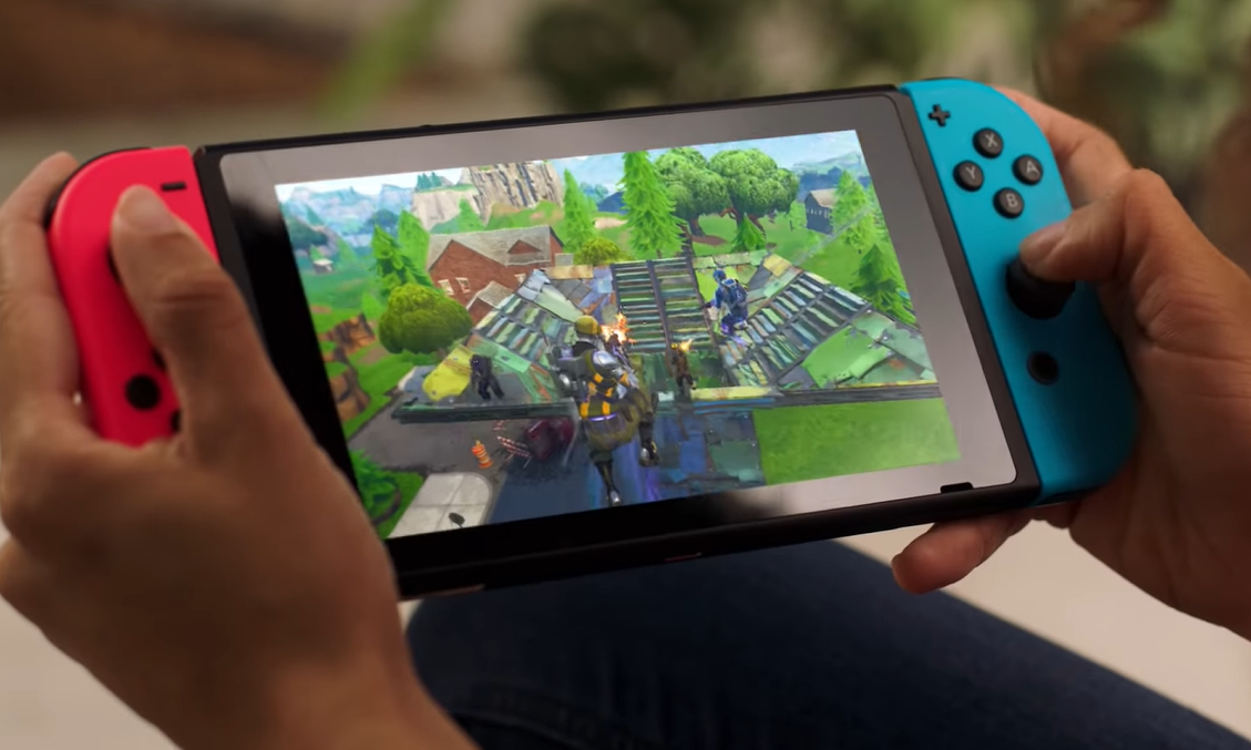 Some Fortnite Guns Fire More Slowly On Switch