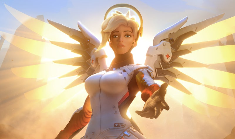 The way Mercy resurrects heroes is changing completely