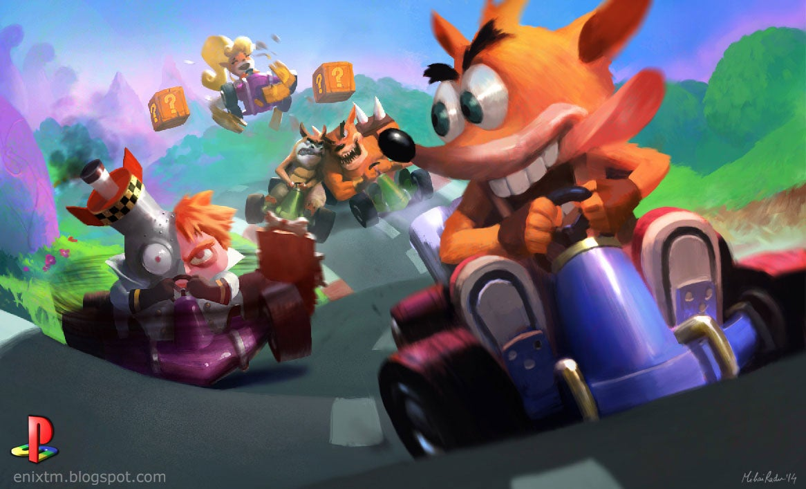 A Fan Art Celebration Of Original PlayStation Games