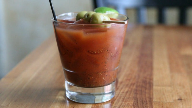 Why You Should Purée Gherkins Spears Into Your Bloody Mary