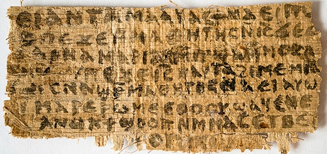 Scientists: Ancient Papyrus That Says Jesus Was Married Is Authentic