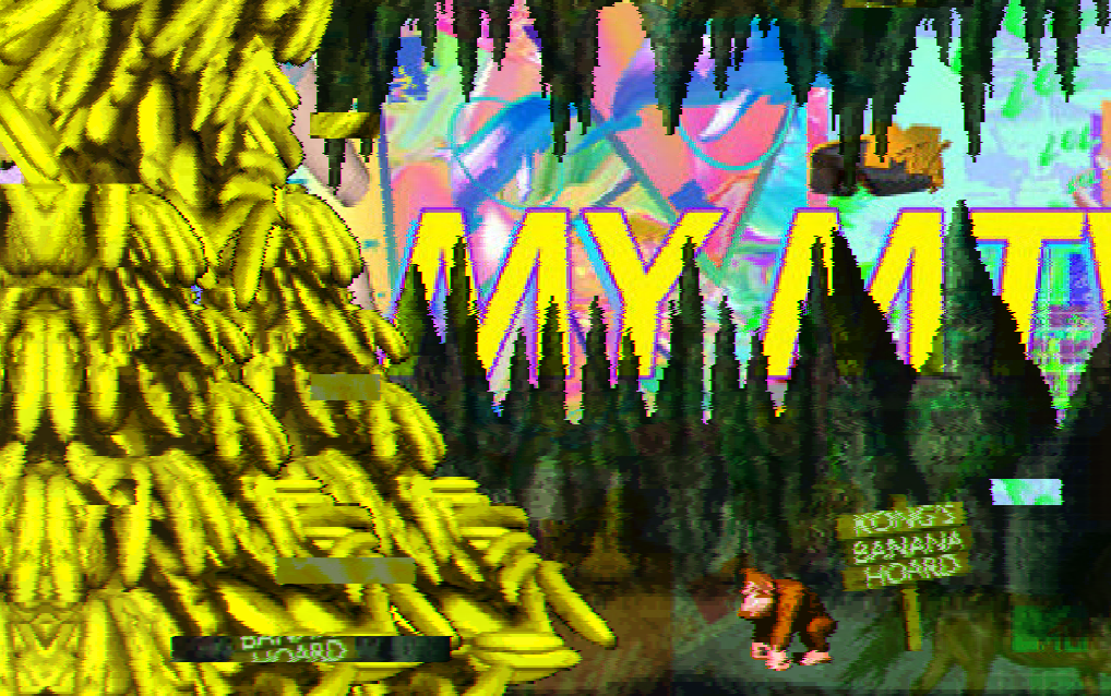 Trippy Fan Game Transforms Donkey Kong Country Into Vaporwave