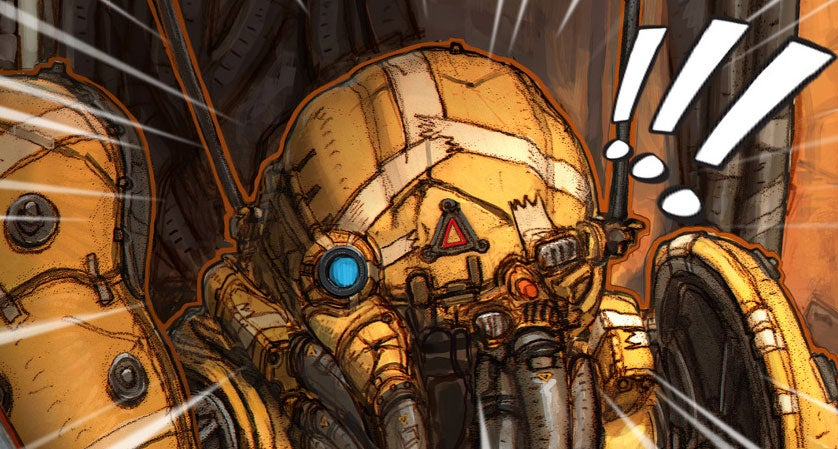 Games Artist Releasing His Own Comic About Space Robots